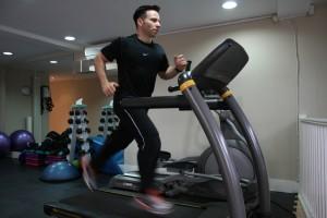 Treadmill HIIT sprint danny wallis PT