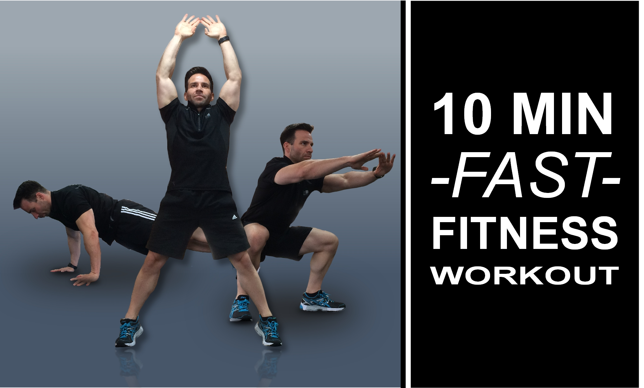 10 min fast fitness workout