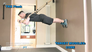 stability workout: the wall plank