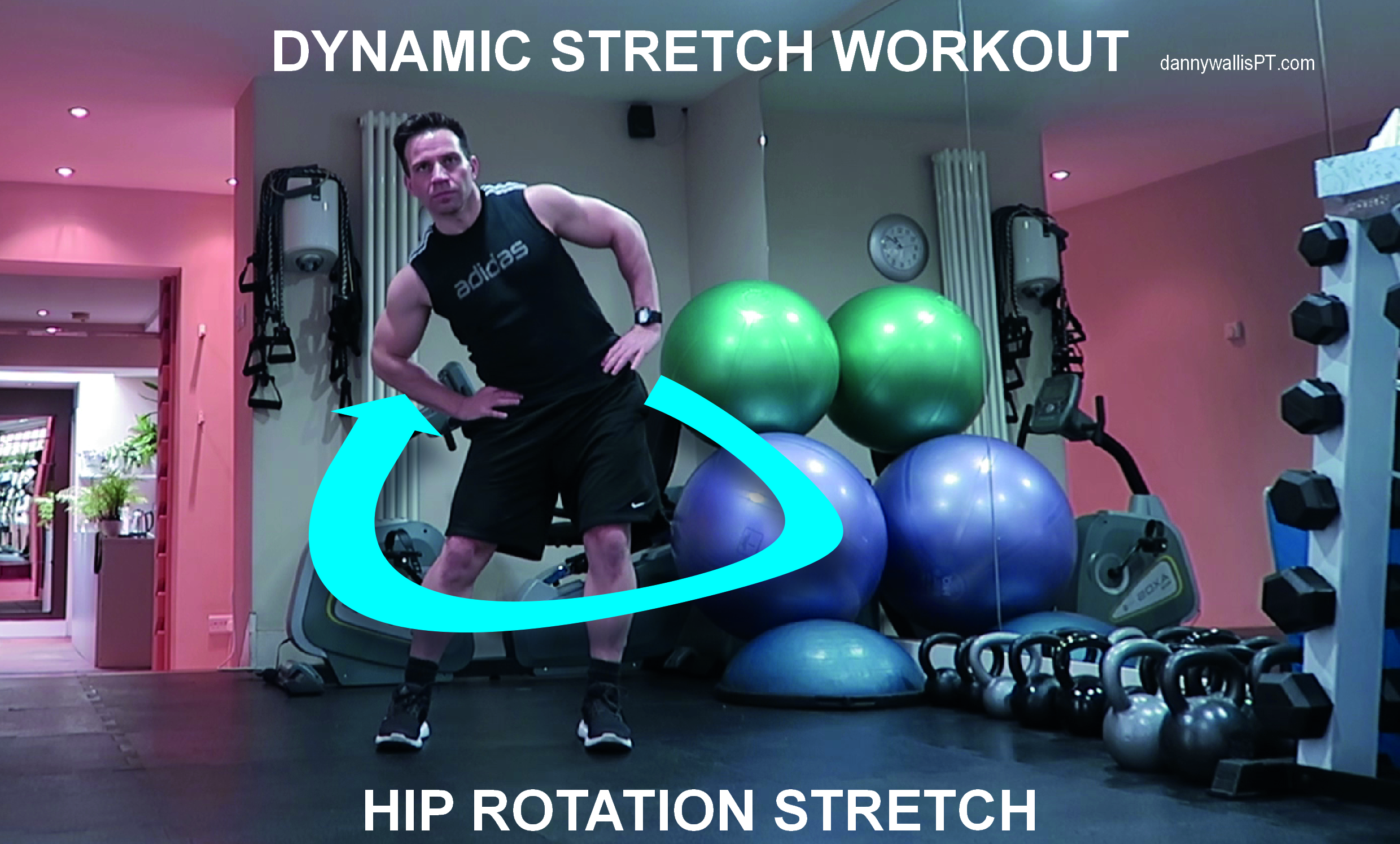 Dynamic Stretching: Hip Rotations