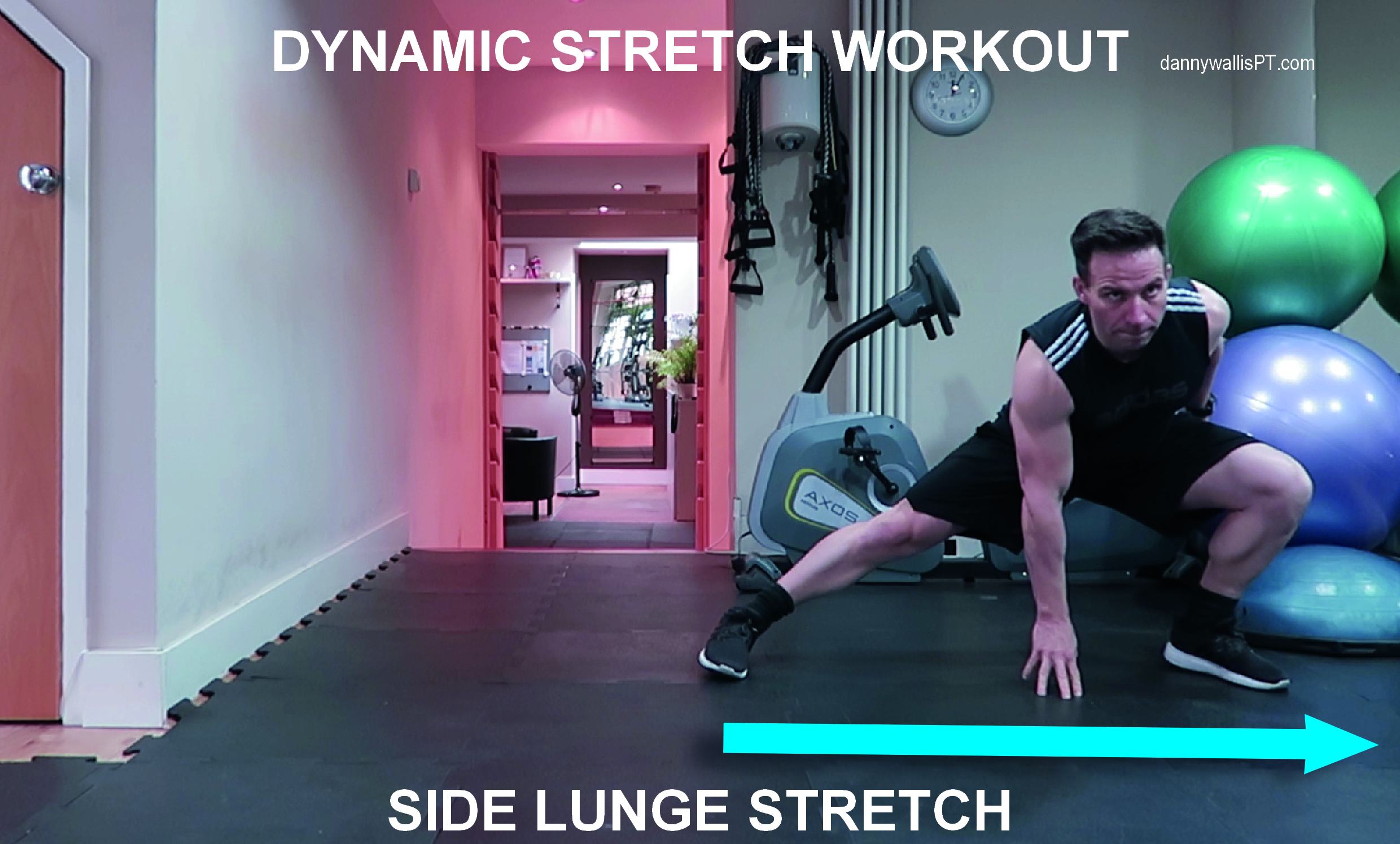 Dynamic Stretching: Side Lunge