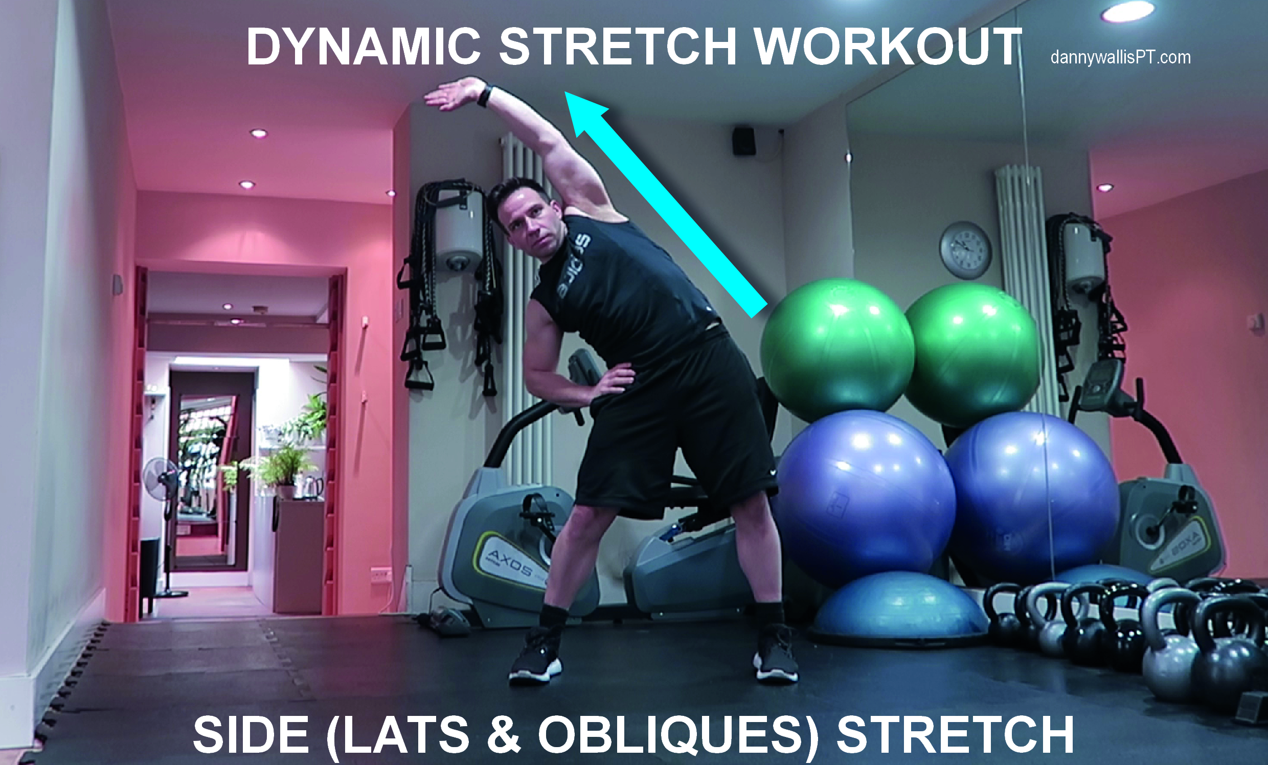 Dynamic Stretching: Side Stretch