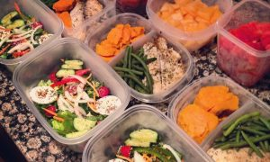 meal prep: healthy habits