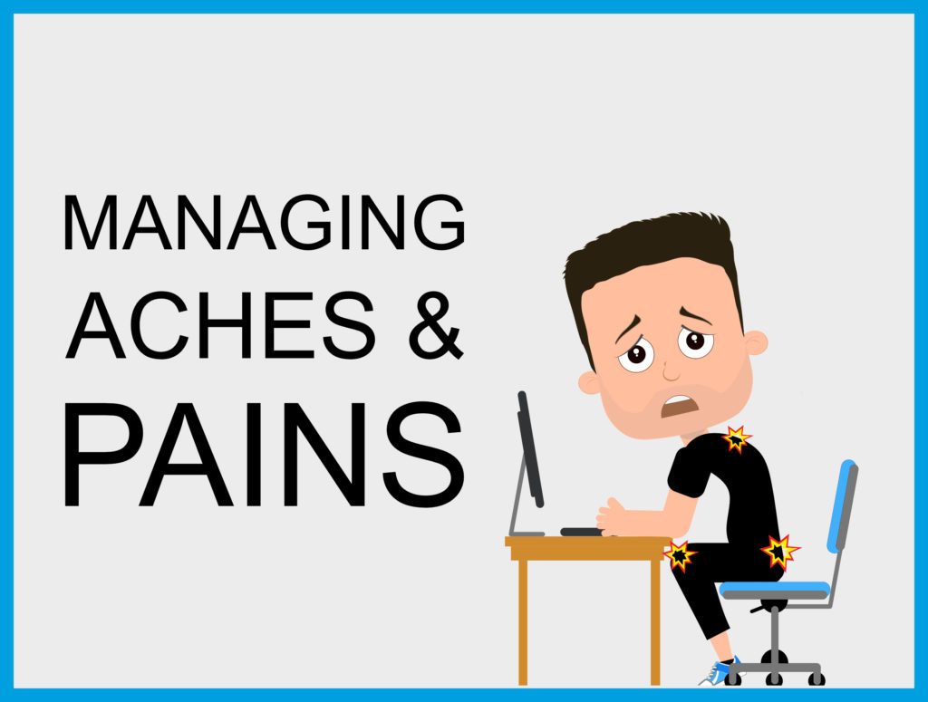 Follow the link to see all of my managing aches and pains posts